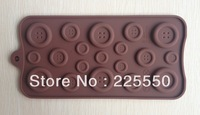 Free shipping 1PCS fastener shape Muffin Sweet Candy Jelly fondant Cake chocolate Mold Silicone tool Baking Pan DIY