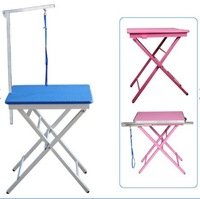Pet beauty x table folding portable table grooming table beauty table height