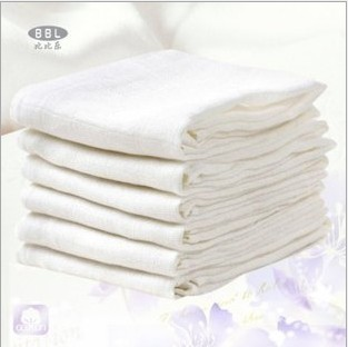 2 bag bebe 100% music newborn cotton gauze diapers white baby diaper 10 60
