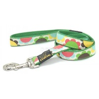 free shipping  Dogcats pectoral girdle traction belt 1.5cm a0410 light green multicolour flower