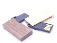 Free shipping new design of swivel usb drive made by wood waterproof