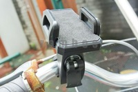 200pcs/lot Universal Bicycle Bike Phone Holder for Mobile Phone/GPS/ MP4 & for iPhone 4 4S 5 free shipping