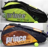 Prince exo3 pro team tennis bag 6 tennis ball racket bag
