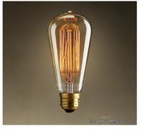 E27 nostalgic vintage artical bulb lamp