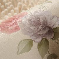 Wallpaper rustic small eco-friendly non-woven wallpaper background