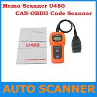 2013 Top-Rated High Quality  U480 OBD2 CAN BUS & Engine Code Reader U480 Code Reader Scanner for VW,AUDI U480 Scanner