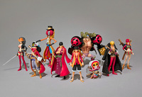 ONE PIECE FILM Z The Movie Luffy Franky chopper brook Action Figure 8pc set D NEW Rare