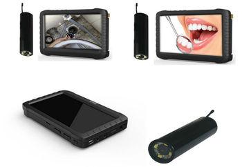 2.4G wireless inspection camera CCTV monitor DVR( 6 LED  ,800*480 pixel, motion detect,AV-IN, AV-OUT)