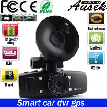 Car DVR 1080P+car dvr recorder+ Full HD+ 4 IR Lights + Wide Angle 120 Degrees+car black box GS1000