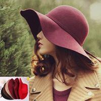 Hat female summer large brim sunbonnet big beach cap fashion dome fedoras sun hat bow