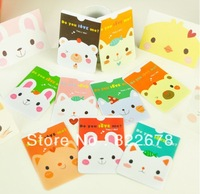 Cute Animal PVC Card protector for Children & Ladies Holding 2pcs Cards Lovely Transport Card Holder / Free Shipping