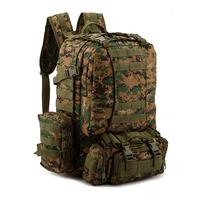 Upscale outdoor climbing bag leisure backpack hiking bag multifunction shoulder bag large capacity combo pack
