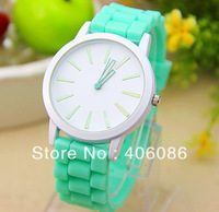 Hot Sale Designer Sports Brand Silicone Watch New Fashion Ladies Watch Classic Gel Crystal Silicone Jelly Wristwatch 1000pcs/lot