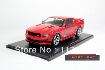 Free Shipping Ford Mustang 1:18 Sa Lin S281 red alloy coupe model Car toys Model car Toy model