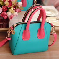 Summer bags 2014 women's hand fashion color block women's candy color hand one shoulder cross-body women's portable
