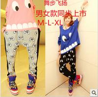 hot sale Free shipping summer women cheap clothing 1020 2013 100% elastic cotton hyoma big eyes big harem pants crotch pants