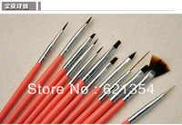 Free Shipping Nail Art Pen Set, DIY Nail Art Brush, Nail Tool
