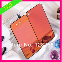 Color for iphone lcd and back cover and home button assembly kit