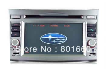 2 Din 6.2inch Digital Screen for Subaru Outback/Legacy Car DVD Player with DVB-T, GPS, Ipod, Bluetooth, FM