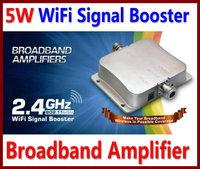 Free Shipping! 5W 802.11b/g/n WiFi Wireless LAN Signal Booster Amplifier Repeater 2.4G