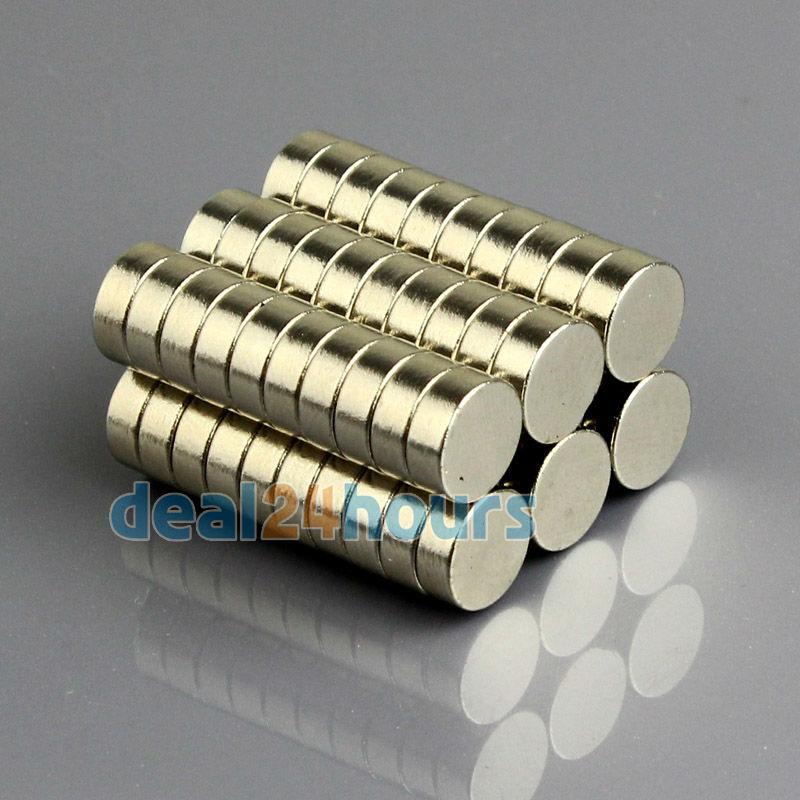 50pcs/lot 8mm x 3mm Strong Disc Fridge Rare Earth Neodymium Magnets Craft Model N35 Free Shipping(China (Mainland))