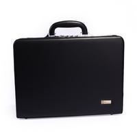 Monsca suitcase briefcase password box m447 black business bag