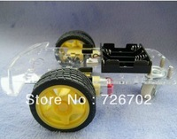 Special promotions !!! Smart car chassis /Tracing car /The robot car chassis /With code disc / tachometer /Send the battery box