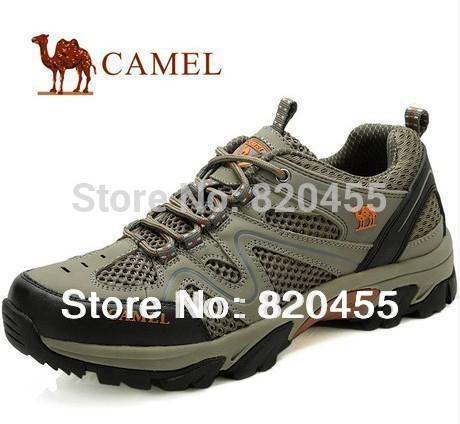 Sapatos Camel homens ao ar livre no verão de 2013, o novo tecido é respirável sapatos de lazer para caminhadas ADM-3601 duas cores frete grátis(China (Mainland))