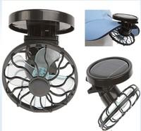 Md9562 solar fan clip fan cap clip travel cap , sun-shading hat