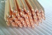 diy heat pipe diameter 6mm * 100-400mm long copper heat pipe copper heat pipe round