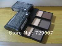 Free shipping,wholesale the eyebrow powder,eyebrow cake with brush 2colors 5 pcs/lot