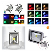 CPAM shipping 1pcs 10W 20W LED Flood light IP65 RGB led floodlight Spotlight outdoor led garden decaration Lamp