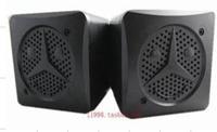 Free Shipping 101d audio laptop speaker usb mini audio square speaker portable
