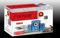 Free Shipping G20 usb laptop speaker multimedia mini audio 2.1 subwoofer