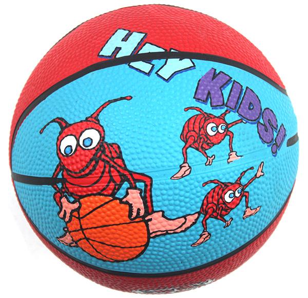 Basketball child basketball cartoon 3 basketball fitness sports toy small rubber ball(China (Mainland))