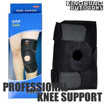 New Neoprene Open Patella Knee Support Elastic Knee Brace Fastener Support Guard for Gym Sport Adjustable Strap 50pcs/lot
