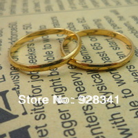 Wholesale - 20pcs/lot Women's Jewelry 18k gold plated rings fashion ring brand ring gold color size 6/7/8/9/10/11/12/ R8