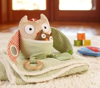 Hot Sales High Quality New design Hug & Hide Treetop Friends Owl activity toy  doll infant toys wholesale free shipping