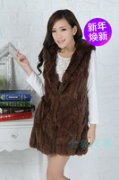 Beaver rabbit fur fur shawl fur one warm fur vest fur coat