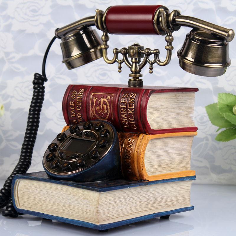 Books antique style telephone vintage telephone old fashioned antique telephone(China (Mainland))