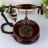Fashion antique telephone vintage telephone rotating disk old fashioned antique telephone
