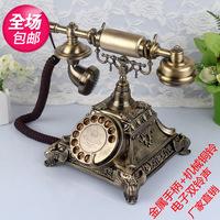 Antique telephone vintage telephone antique old fashioned antique telephone rotating disk telephone