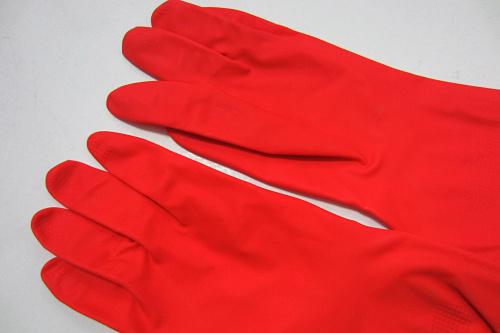 Dishwashing Gloves Kitchen Dishwashing Gloves Red Rubber