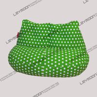 New FREE SHIPPING green dot beanbag chair modern loveseat 100% cotton canvas fabric bean bag chair bean bag sofa bean bag cover