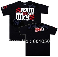 man short sleeve t-shirt Form Athletics Jon Jones fight tops black 080