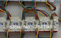 promotion!!! 20pcs/stand 5050 SMD LED RGB module,DC12V input,with plastic case