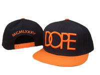 Cheap DOPE couture Snapback caps DP45 black / orange top quality Being A New Fashion Trend hot sale !