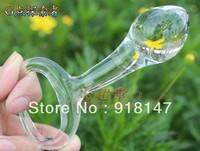 Hot ! G point swarovski crystal glass Anal Sex Toy  13.5X3.5cm free shipping