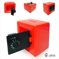 Creative password safe piggy bank saving box password box mini piggy bank free shipping