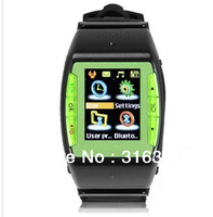 1.4 inch QVGA Touch Screen Quad Band Single SIM Bluetooth Watch Cell Phone;